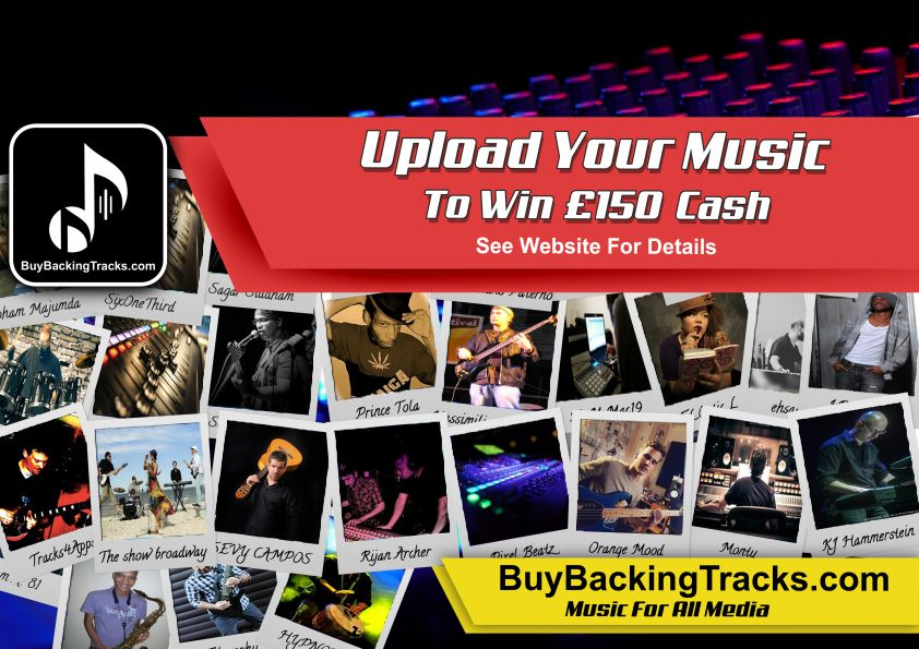 BuyBackingTracks.com Prize Draw
